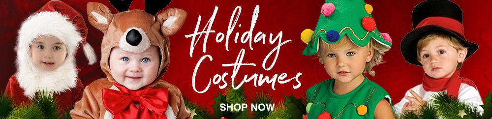 WHC_ Infant Toddler Christmas Costumes