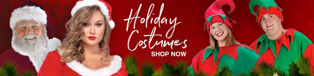 Plus Size, Christmas, Costumes