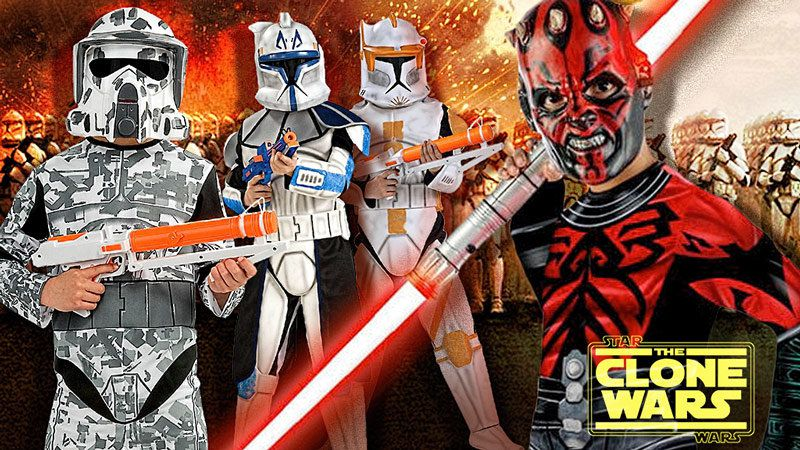 Star Wars Clone Wars Costumes