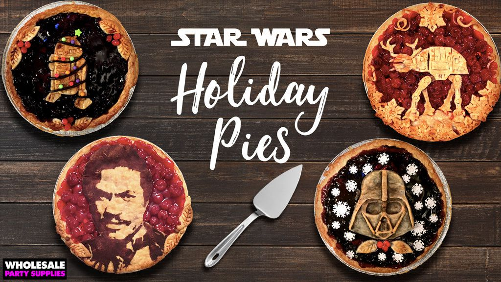 Star Wars Holiday Pies