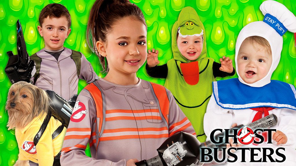 Kids Ghostbusters Costumes
