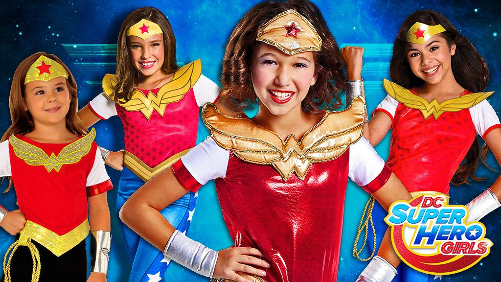 DC Superhero Girls Costumes