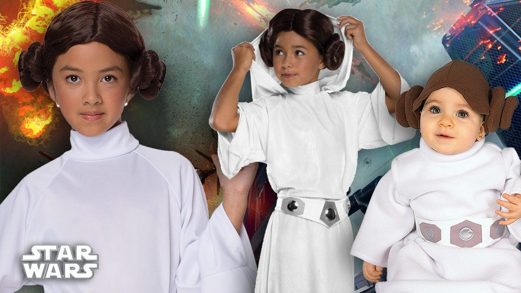 Girls Princess Leia Costumes
