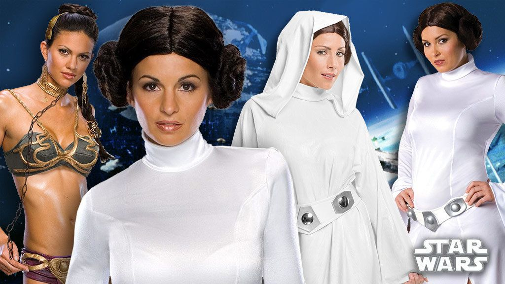 Women's Princess Leia Costumes