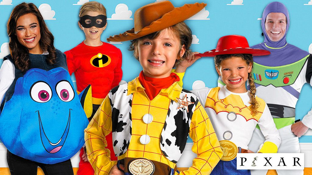 Disney Pixar Costumes