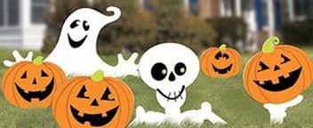 Shop Decorations and Halloween Props