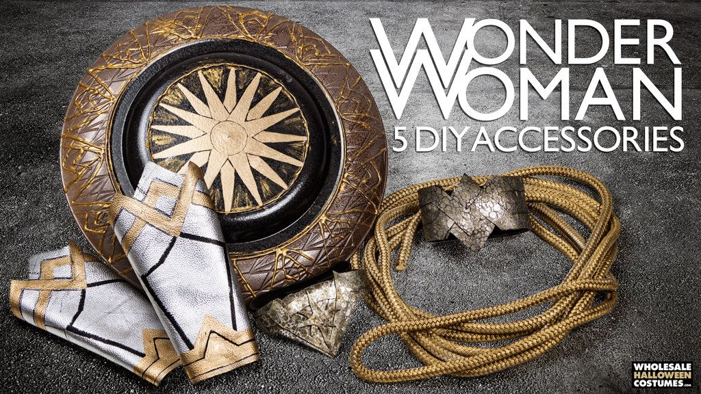 DIY Wonder Woman Accessories