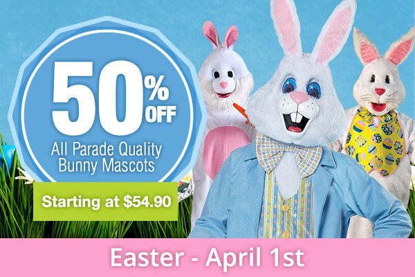 Easter Costumes and Mascots