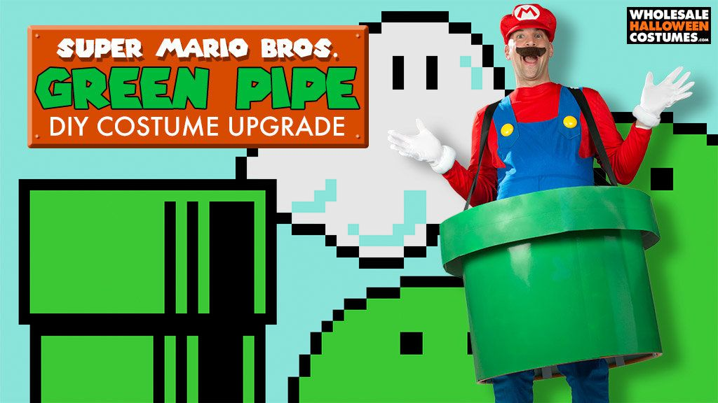 DIY Super Mario Green Pipe