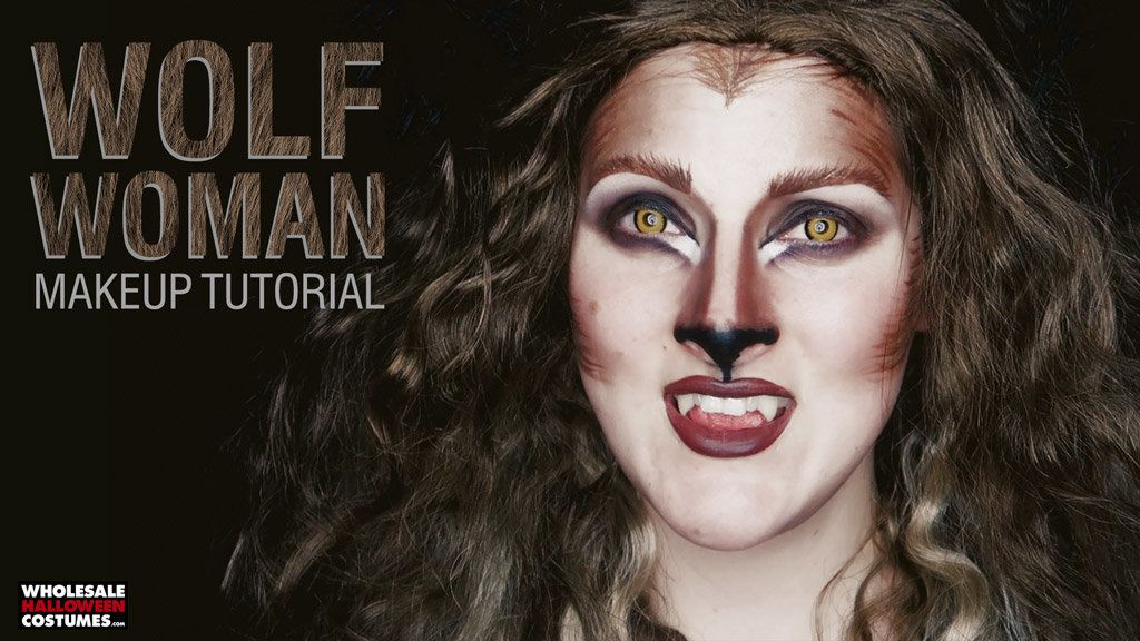 Glam Werewolf Makeup Tutorial
