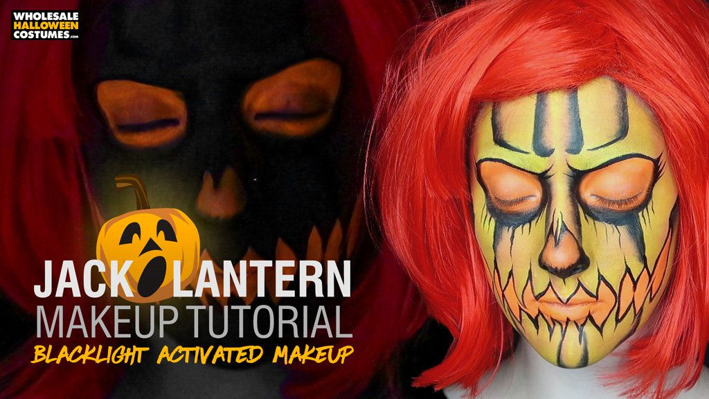 Jack o Lantern Makeup Tutorial