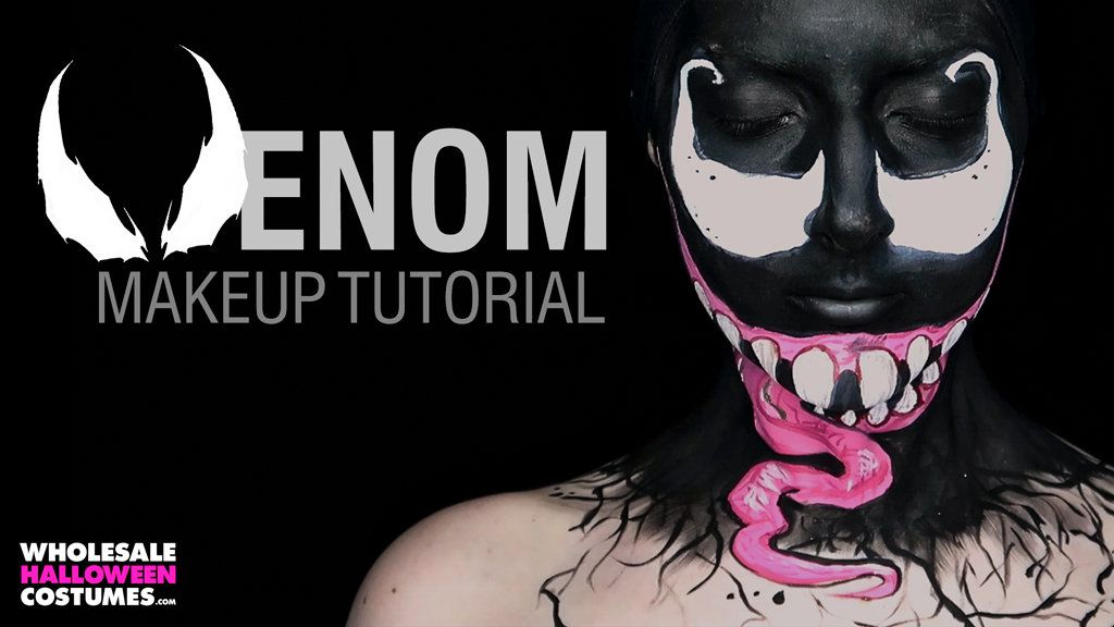 Venom Makeup Tutorial