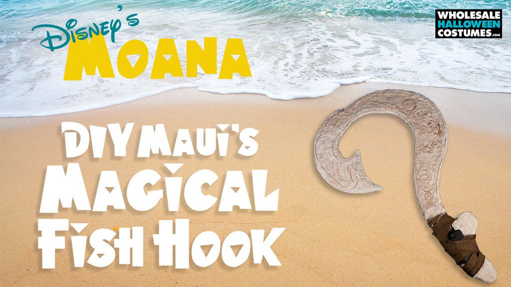 DIY Maui's Magical Fish Hook