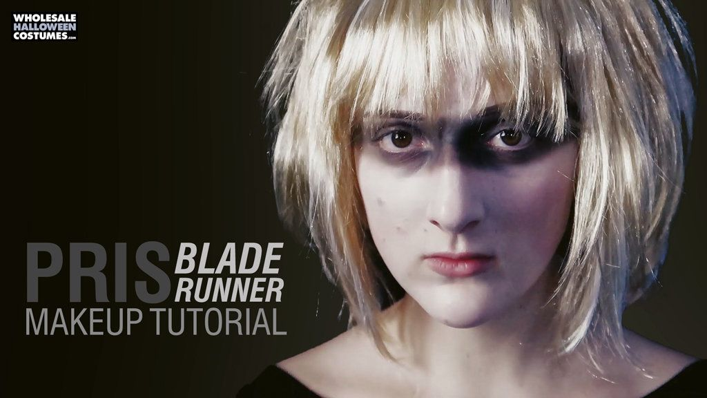 Blade Runner Pris Makeup Tutorial