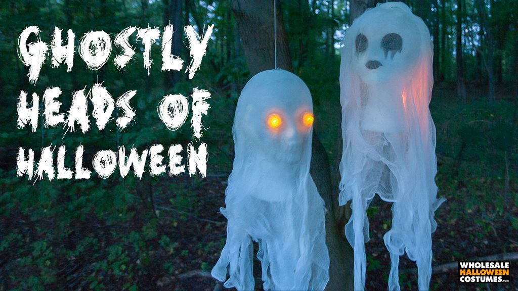 DIY Cheesecloth Ghost Busts