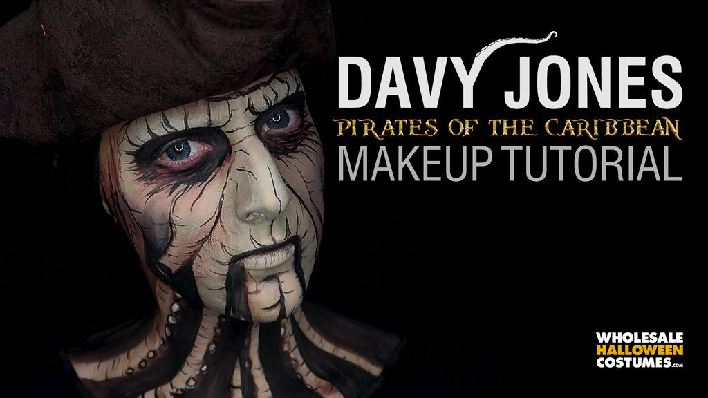 Davy Jones Makeup Tutorial