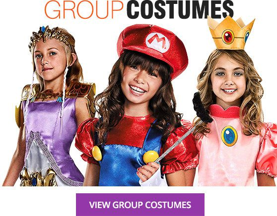 Girls Group Costumes