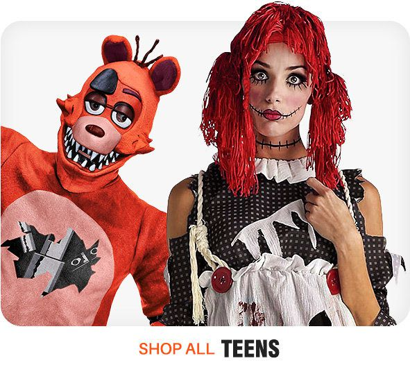 New Teen Costumes