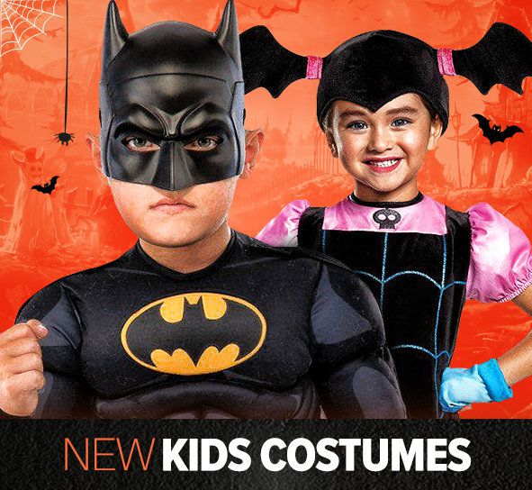 new kids costumes