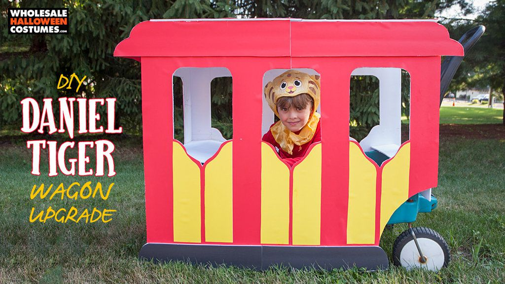 DIY Daniel Tiger Wagon Upgrade