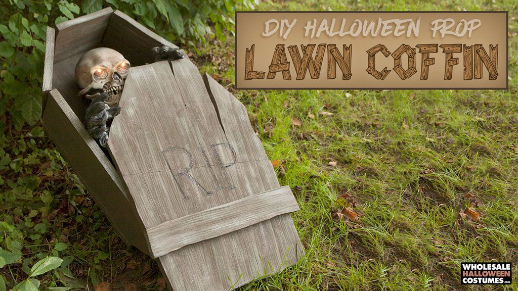 DIY Lawn Coffin