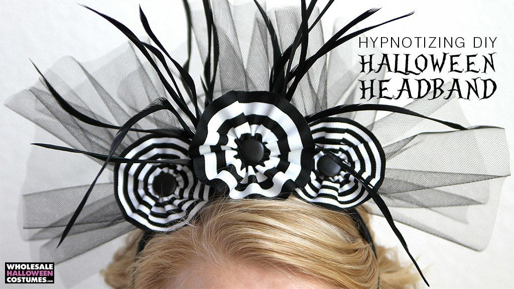 DIY Black & White Headband