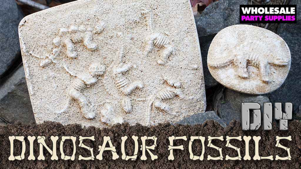 DIY Dinosaur Fossil Craft
