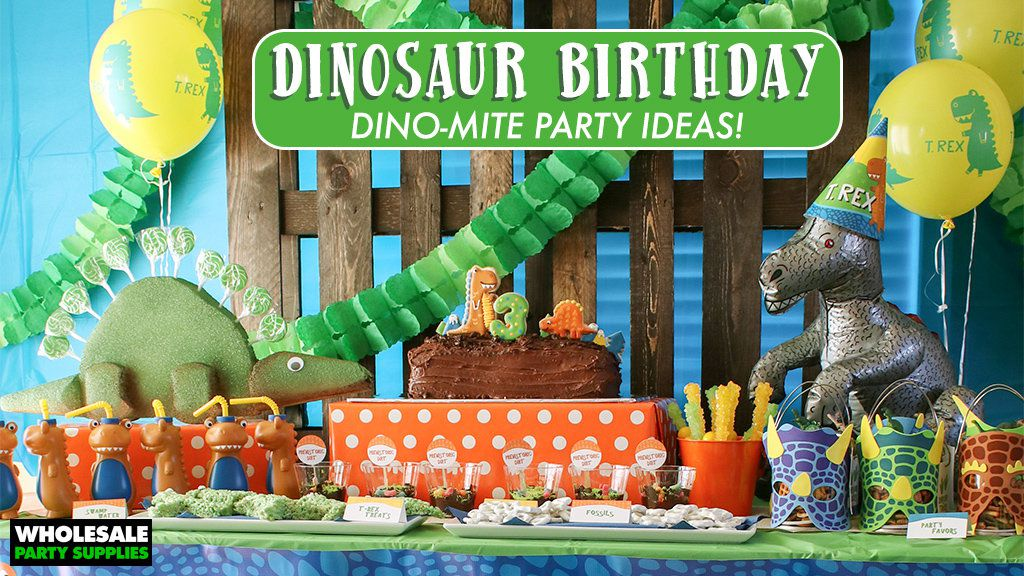 Dinosaur Party Idea