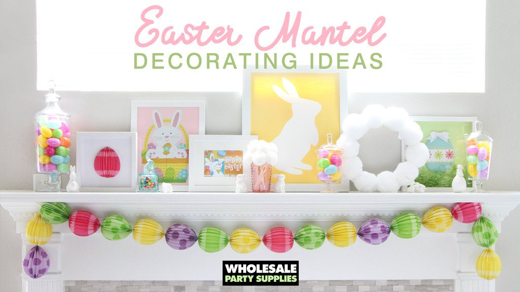 Easter Mantel Decoration