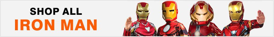 Shop All Iron Man Costumes