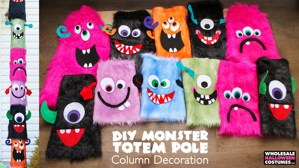 DIY Monster Totem Pole