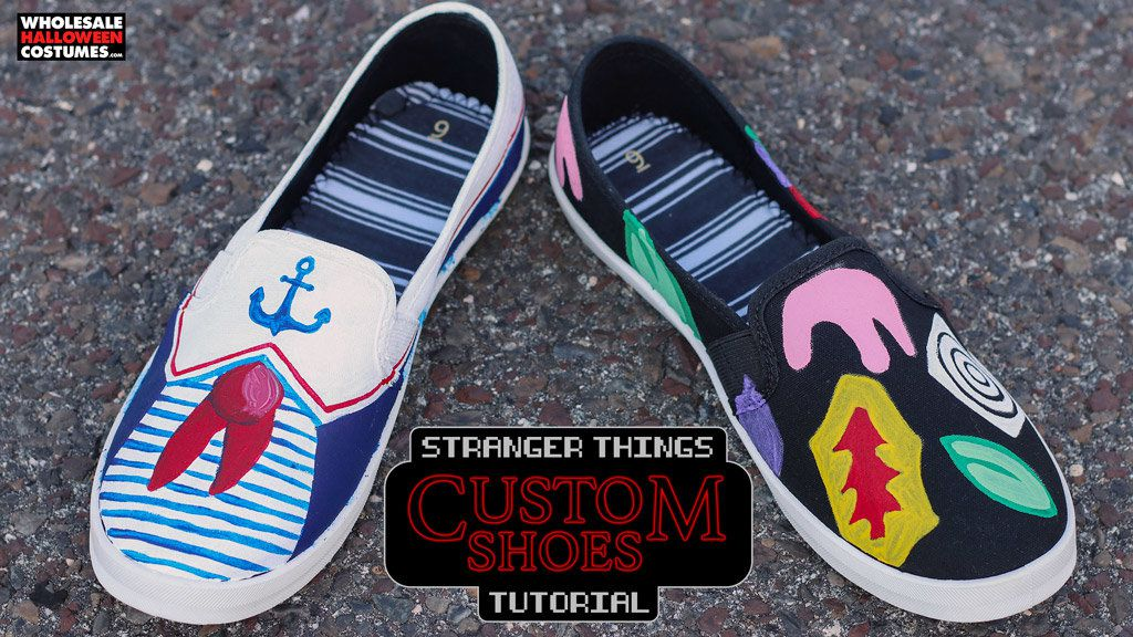 DIY Stranger Things Shoes