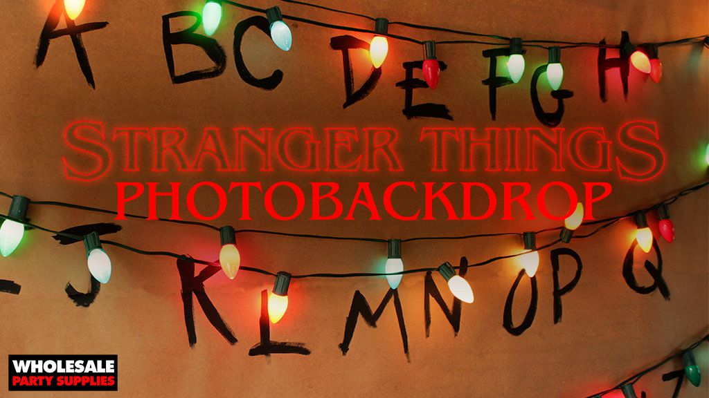 DIY Stranger Things Wall