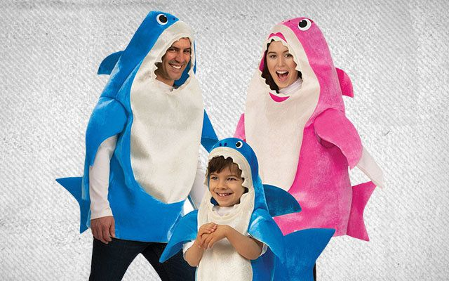 Baby Shark Group Costumes