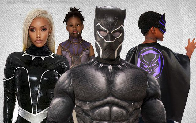 Black Panther Group Costume Ideas