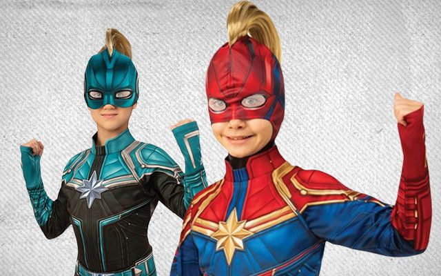 Captain Marvel Costumes Superhero Costumes At Wholesale Halloween Costumes Everything from cosplay options to a shirt featuring brie larson! captain marvel costumes superhero