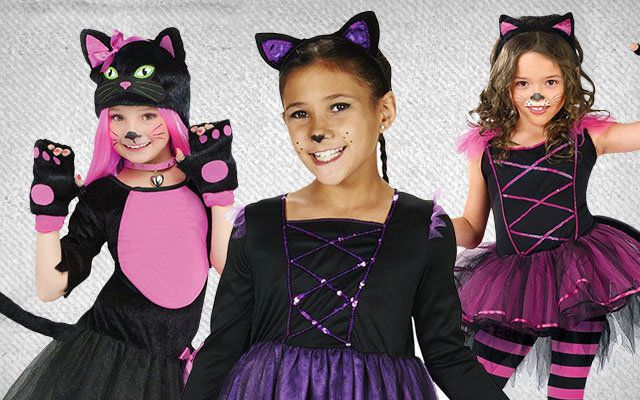 Girls Cat Costumes