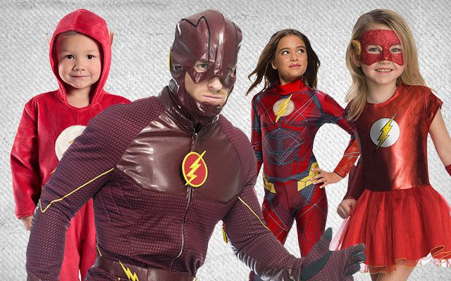Flash Group Costume