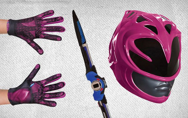 Power Rangers Costume Accessories