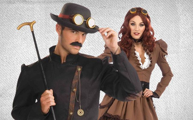 Steampunk Couples Costumes