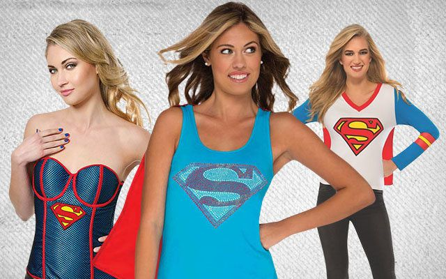 Supergirl Clothing