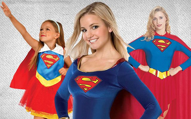 Supergirl Comics Costumes