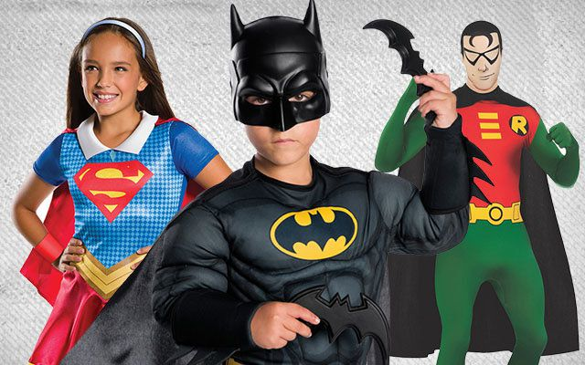 DC Superhero Costumes