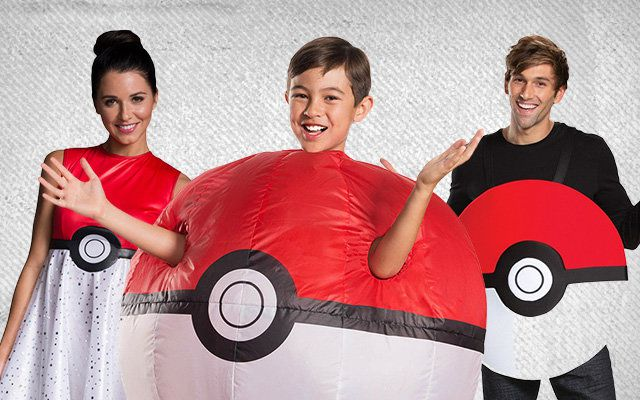 Pokeball Costumes
