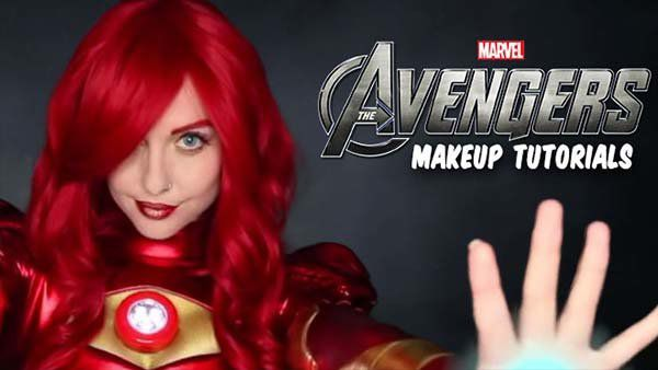 Avengers Makeup Tutorials