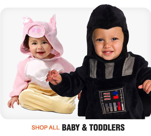 New toddler costumes