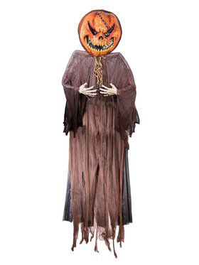 12 Foot Hanging Pumpkin Decoration