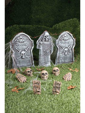 12-piece Cemetery Decoration Kit