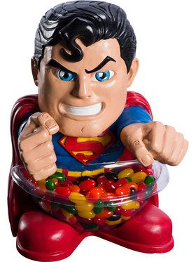 DC Superman Halloween Candy Bowl Holder