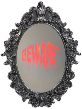 "16"" Mirror with Ghostwriting"